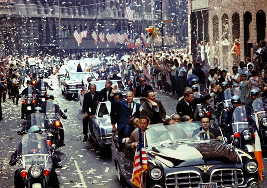 Parade Apollo 11 1969 New York NASA